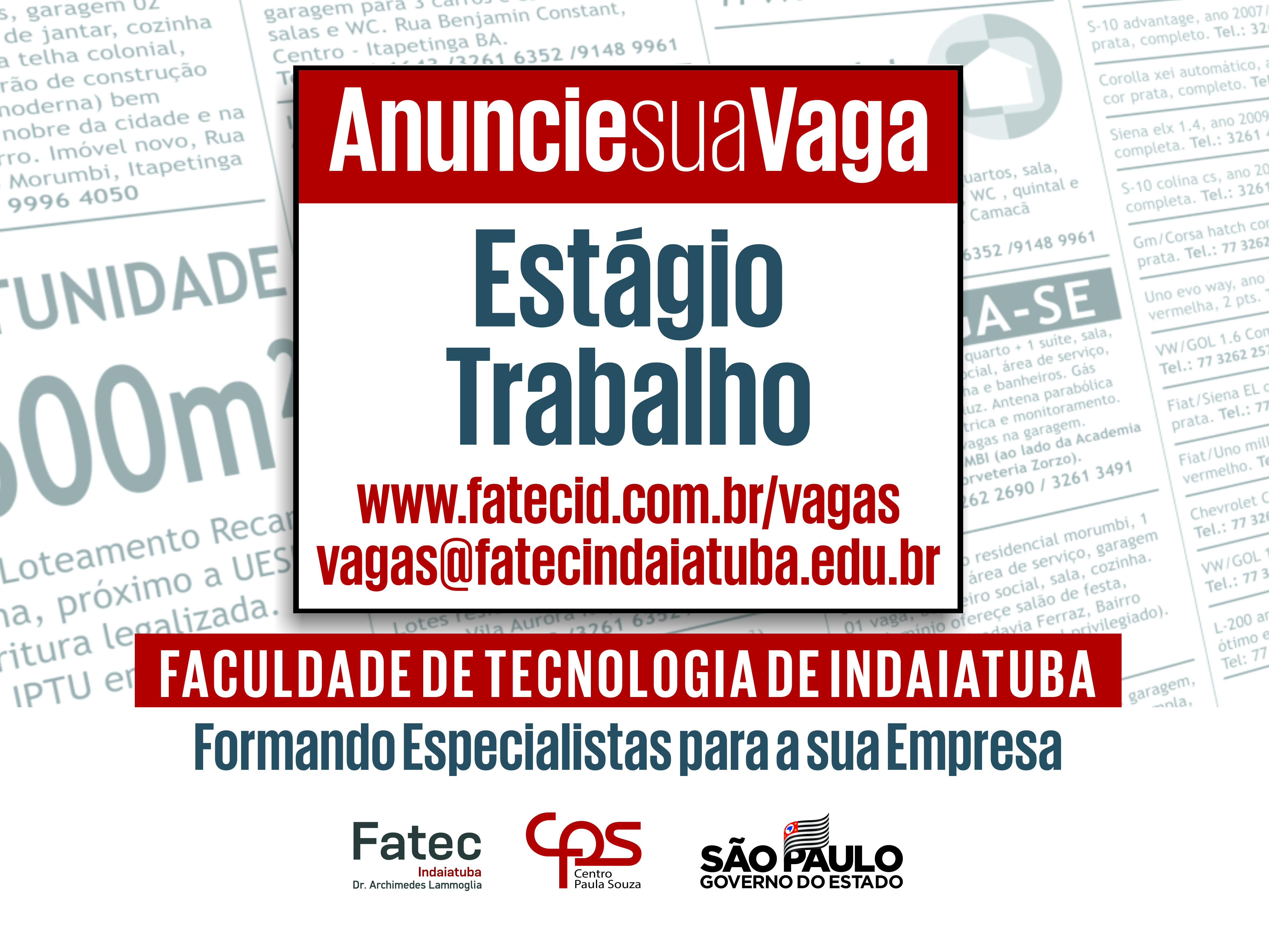 FATEC - Faculdade de Tecnologia de Indaiatuba