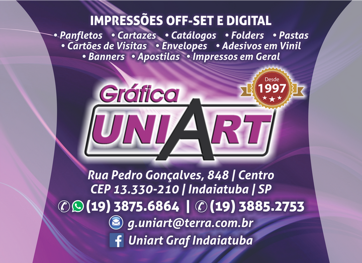 GRÁFICA UNIART DE INDAIATUBA LTDA - EPP