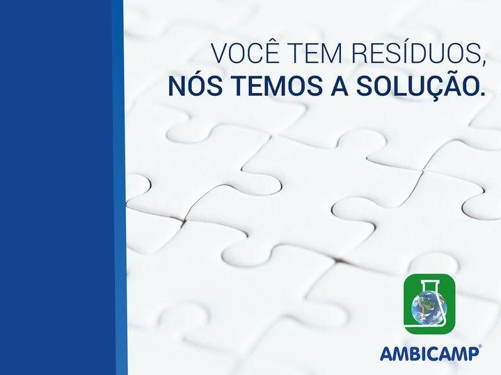 AMBICAMP - COLETA E DESTINAÇÃO DE RESÍDUOS LTDA