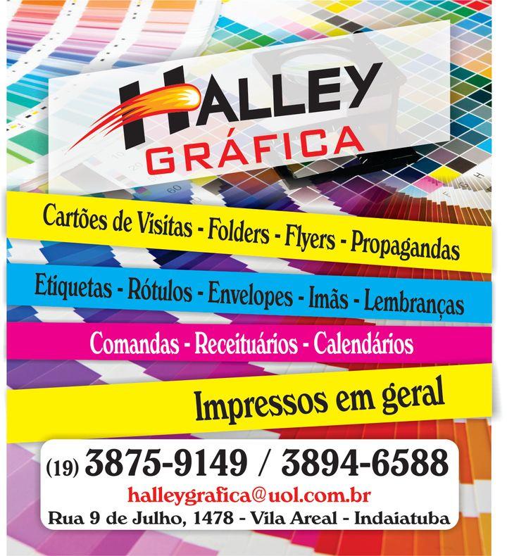 HALLEY ARTES GRÁFICAS LTDA